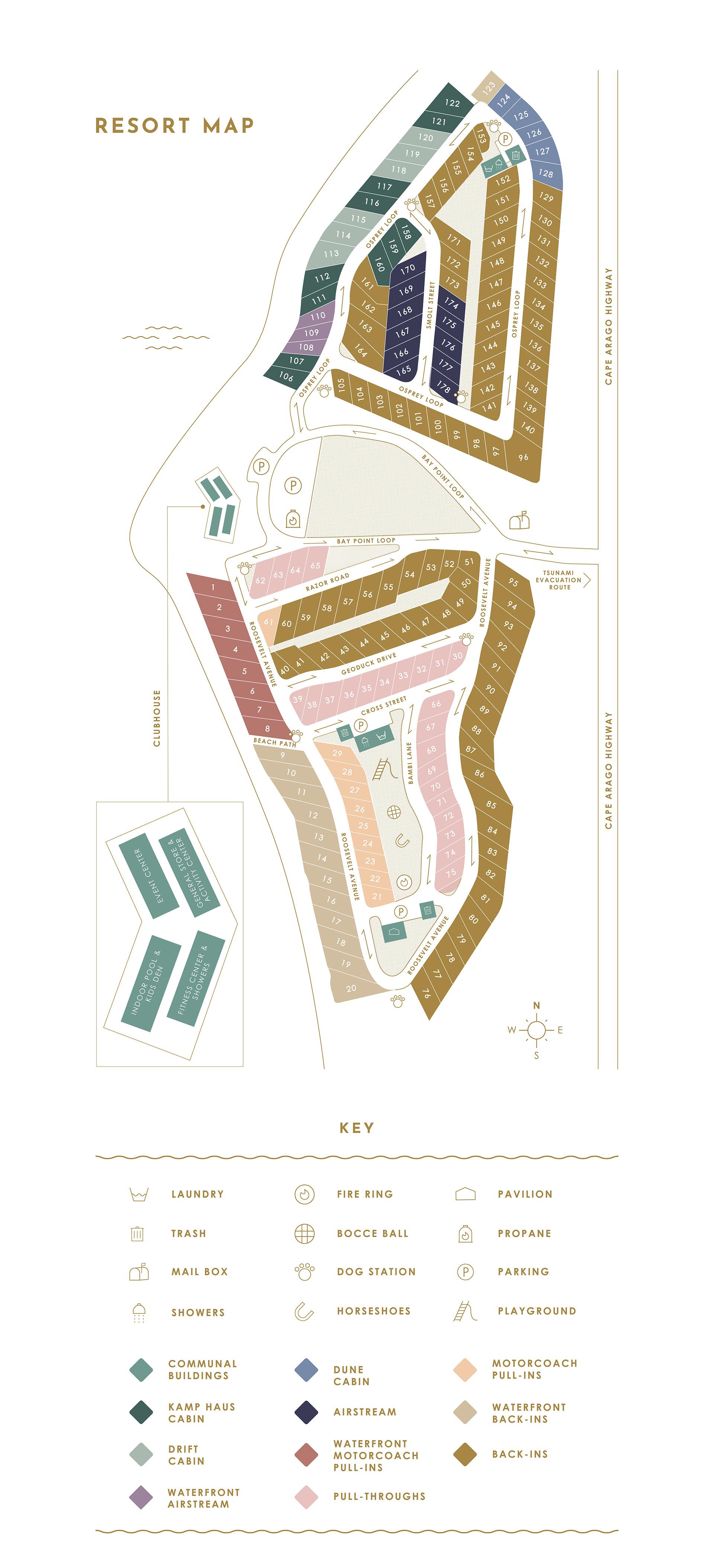 Bay Point Landing Map